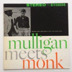 Discos de vinilo: THELONIOUS MONK AND GERRY MULLIGAN ‎– MULLIGAN MEETS MONK JAPAN,1975. Lote 259941410