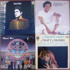 Discos de vinilo: LOTE 4 LP (PATXI ANDION, MIGUEL RÍOS, JULIO IGLESIAS, MATT MONRO). Lote 259945090