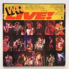 Discos de vinilo: WAR – LIVE 2 VINYLS JAPAN,1973 LIBERTY. Lote 259946210