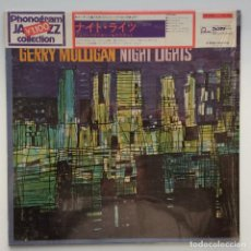 Discos de vinilo: GERRY MULLIGAN – NIGHT LIGHTS JAPAN,1972 FONTANA. Lote 259947750