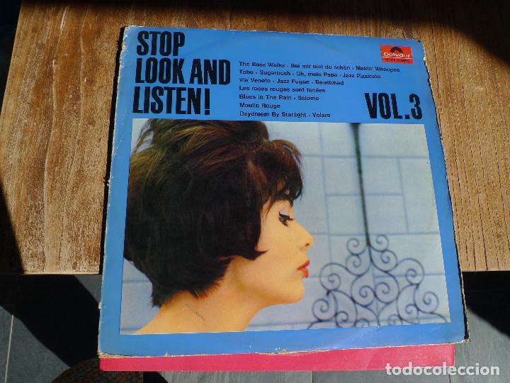 STOP, LOOK AND LISTEN! VOL. 3 (Música - Discos - LP Vinilo - Jazz, Jazz-Rock, Blues y R&B)
