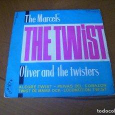 Discos de vinilo: EP : THE MARCELS - THE TWIST / ED SPAIN 1961 MIRAR FOTOS. Lote 259988535