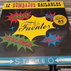 Discos de vinilo: 12 BOMBAZOS BAILABLES . LP VINILO PRECINTADO. SALSA, CUMBIA, LATIN MUSIC. Lote 260021620