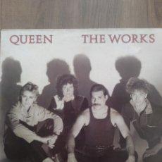 """Discos de vinilo: QUEEN """" THE WORKS """". EDICIÓN UK. 1984. EMI RECORDS.. Lote 260053370"""