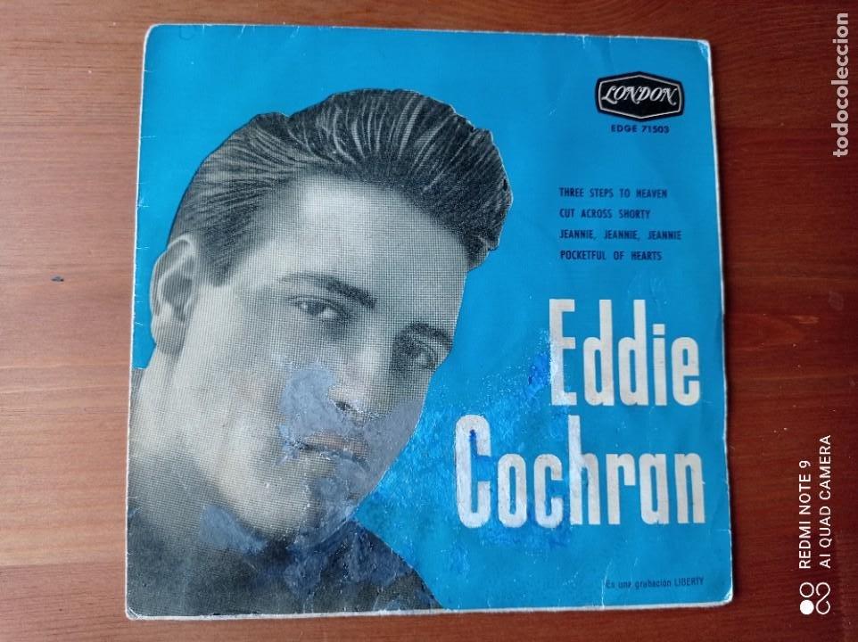 EDDIE COCHRAN COLUMBIA EDGE 71503 (Música - Discos de Vinilo - EPs - Pop - Rock Internacional de los 50 y 60)