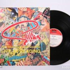 Discos de vinilo: DISCO LP DE VINILO - GILLAN / LIVE AT READING '80 - RAW FRUIT RECORDS - AÑO 1990 - MADE IN UK. Lote 260060965