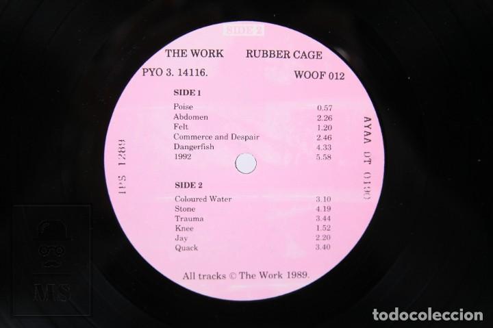 Discos de vinilo: Disco LP de Vinilo - Rubber Cage / The Work - Woof Records - Año 1989 - Foto 2 - 260061475