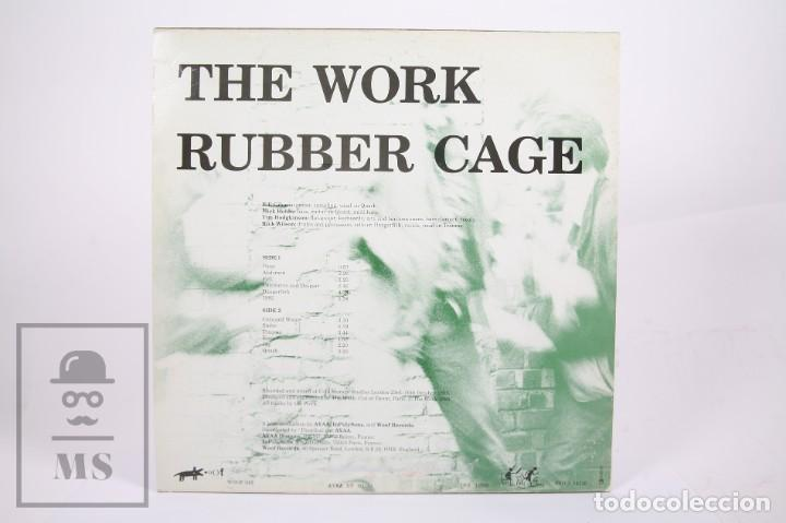 Discos de vinilo: Disco LP de Vinilo - Rubber Cage / The Work - Woof Records - Año 1989 - Foto 3 - 260061475