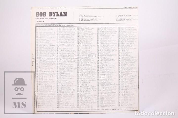 Discos de vinilo: Disco LP de Vinilo - Bob Dylan / A Rare Batch Of Little White Wonder Vol. 2 - Joker - Año 1974 - Foto 3 - 260061880