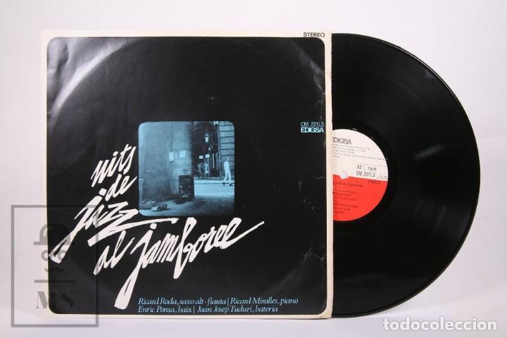 DISCO LP DE VINILO-NITS DE JAZZ AL JAMBOREE / RICARD RODA, RICARD MIRALLES, ENRIC PONSA -EDIGSA 1968 (Música - Discos - LP Vinilo - Jazz, Jazz-Rock, Blues y R&B)