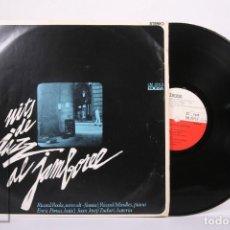 Discos de vinilo: DISCO LP DE VINILO-NITS DE JAZZ AL JAMBOREE / RICARD RODA, RICARD MIRALLES, ENRIC PONSA -EDIGSA 1968. Lote 260062690