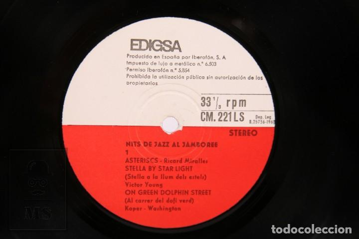 Discos de vinilo: Disco LP de Vinilo-Nits De Jazz Al Jamboree / Ricard Roda, Ricard Miralles, Enric Ponsa -Edigsa 1968 - Foto 2 - 260062690