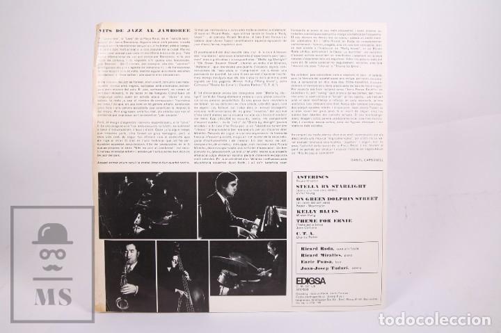 Discos de vinilo: Disco LP de Vinilo-Nits De Jazz Al Jamboree / Ricard Roda, Ricard Miralles, Enric Ponsa -Edigsa 1968 - Foto 3 - 260062690