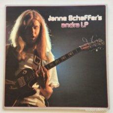Discos de vinilo: JANNE SCHAFFER – JANNE SCHAFFER'S ANDRA LP SWEDEN,1974 EUROPA FILM. Lote 260078710