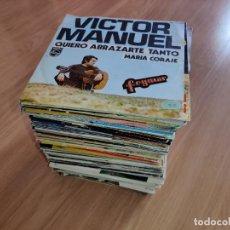 Discos de vinilo: LOTE COLECCION 113 DISCOS VINILO 7'' EP SINGLE VARIADO LEER. Lote 260089290