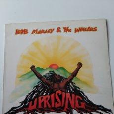 Discos de vinilo: DISCO VINILO LP BOB MARLEY & THE WAILERS: UPRISING. 1980.. Lote 260089865