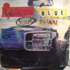 Discos de vinilo: DEACON BLUE-YOUR TOWN. Lote 260091440