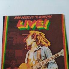 Discos de vinilo: BOB MARLEY & THE WAILERS: LIVE!. 1975. DISCO VINILO LP.. Lote 260092585