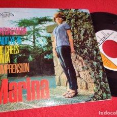 Disques de vinyle: MARINA CARTAGENERA/SNOB YEYE YE YE/ME CREES TONTA/COMPRENSION EP 1965 MARBELLA EXCELENTE ESTADO. Lote 260092615