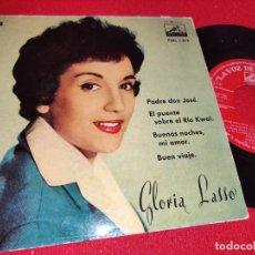 Disques de vinyle: GLORIA LASSO PADRE DON JOSE/EL PUENTE SOBRE EL RIO KWAI/BUENAS NOCHES MI AMOR +1 EP 1958 LA VOZ DE... Lote 260092930