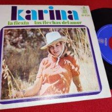 Dischi in vinile: KARINA LA FIESTA/LAS FLECHAS DEL AMOR 7 1968 HISPAVOX SPAIN ESPAÑA. Lote 260093975