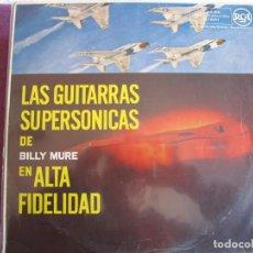 Disques de vinyle: LP - BILLY MURE - LAS GUITARRAS SUPERSONICAS EN ALTA FIDELIDAD (SPAIN, RCA 1958). Lote 260094475