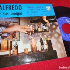 Disques de vinyle: ALFREDO Y SUS AMIGOS ESTAMPAS BILBAINAS N2/EN ESA RANICA VERDE/LA ALEGRIA DE PAMPLONA +1 EP 1966. Lote 260097515