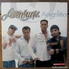 Discos de vinilo: AVENTURA - ANGELITO - ORIGINAL, DANCE MIX, RADIO MIX - 2005 - BACHATA, ROMEO SANTOS. Lote 260099285
