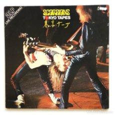Discos de vinilo: SCORPIONS – TOKYO TAPES 2 VINYLS GERMANY,1978 RCA. Lote 260102710