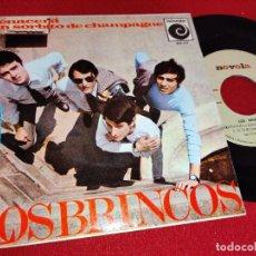 Discos de vinilo: LOS BRINCOS RENACERA/UN SORBITO DE CHAMPAGNE/GIULIETTA/TU EN MI 7'' EP 1966 NOVOLA. Lote 260107800