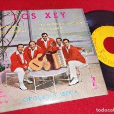 Discos de vinilo: LOS XEY LA RANA/LOS CURDAS/FUI AL CRISTO Y ENAMOREME/ZAPATERO EP 1959 MONTILLA. Lote 260108050