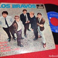 Discos de vinilo: LOS BRAVOS SYMPATHY/SHOW ME/I'M ALL EARS/I'M WEARING A SMILE EP 1967 COLUMBIA. Lote 260108225