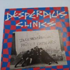 Discos de vinilo: DESPERDICIS CLINICS, COLLONS, 1987. JUSTINE.. Lote 260130890