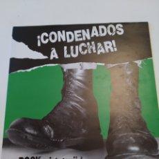 Discos de vinilo: ¡CONDENADOS A LUCHAR! BOROCKARI LOTURIK. 1986. DISCOS SUICIDAS. DISCO VINILO LP.. Lote 260170725