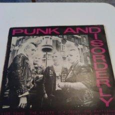 Discos de vinilo: DISCO VINILO LP PUNK AND DISORDERLY. 1981. ABSTRACT RECORDS. Lote 260172410