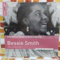 Discos de vinilo: BESSIE SMITH–THE ROUGH GUIDE TO BLUES LEGENDS: BESSIE SMITH. LP VINILO NUEVO PRECINTADO. Lote 260264510
