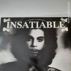 Discos de vinilo: PRINCE – INSATIABLE (LIVE & RARE COLLECTION) ITALIA 1992 LP UNOFFICIAL. Lote 260267570