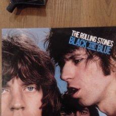 """Discos de vinilo: THE ROLLING STONES """" BLACK AND BLUE """". EDICIÓN ESPAÑOLA. 1987. CBS RECORDS.. Lote 260274930"""