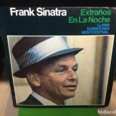 Discos de vinilo: FRANK SINATRA EXTRAÑOS EN LA NOCHE ( STRANGERS IN THE NIGHT ) DISCO DE VINILO 45 RPM AÑOS 60 4 TEMAS. Lote 260285470