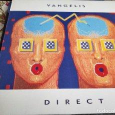 Discos de vinil: VANGELIS - DIRECT (LP, ALBUM) ARISTA, BMG ARIOLA ESPAÑA, 5F 209149.MUY BUEN ESTADO.NEAR MINT / NM. Lote 260287615