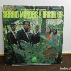 Discos de vinilo: DISCO VINILO LP. HERB ALPERT PRESENTS SERGIO MENDES & BRASIL '66. 33 RPM.. Lote 260303710
