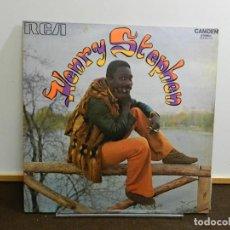 Discos de vinilo: DISCO VINILO LP. HENRY STEPHEN – HENRY STEPHEN. 33 RPM.. Lote 260303910