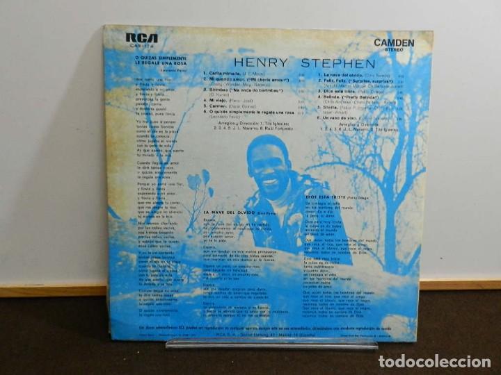 Discos de vinilo: DISCO VINILO LP. Henry Stephen – Henry Stephen. 33 RPM. - Foto 2 - 260303910