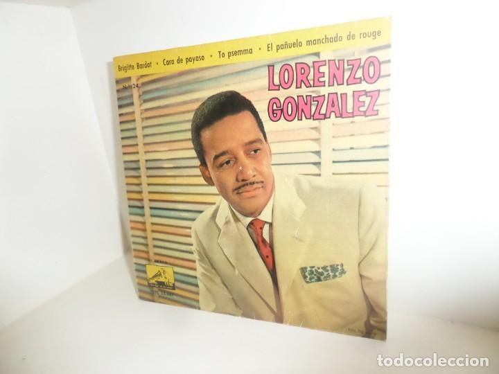 LORENZO GONZALEZ - BRIGITTE BARDOT - EP - DISPONGO DE MAS DISCOS DE VINILO (Música - Discos de Vinilo - EPs - Grupos y Solistas de latinoamérica)