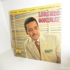 Discos de vinilo: LORENZO GONZALEZ - BRIGITTE BARDOT - EP - DISPONGO DE MAS DISCOS DE VINILO. Lote 260313080