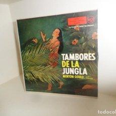 Discos de vinil: MORTON GOULD Y SU ORQUESTA - TAMBORES EN LA JUNGLA - EP - DISPONGO DE MAS DISCOS DE VINILO. Lote 260316360