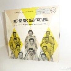 Discos de vinilo: LOS CHAVALES DE ESPAÑA - LA FIESTA - 2 EPS - DISPONGO DE MAS DISCOS DE VINILO. Lote 260317045