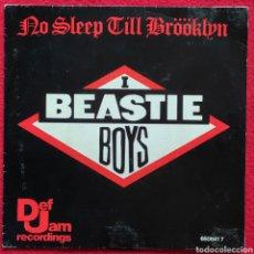"""Discos de vinilo: BEASTIE BOYS - NO SLEEP TILL BRÖÖKLYN 7"""" 1987 RARA EDICION ESPAÑOLA. Lote 260325830"""