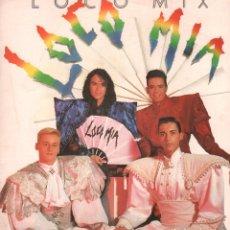 Discos de vinilo: LOCOMIA - LOCO MIX / MAXI SINGLE DE 1990 / BUEN ESTADO RF-9512. Lote 260328670
