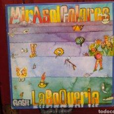 Discos de vinilo: MIRASOL COLORES–LA BOQUERÍA. LP VINILO 1977. Lote 260328720